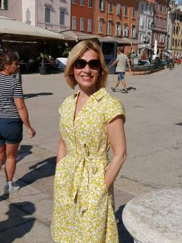 The perfect dress for sightseeing